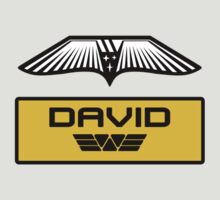 Prometheus David - Patch and Wings (Android) - Weyland Logo (CLEAN NEW LOOK) by James Ferguson - Darkinc1