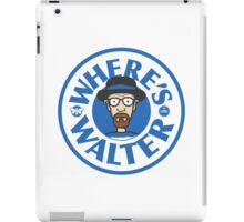 Where's Walter iPad Case/Skin