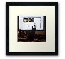 Cover Boy Framed Print