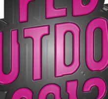 FED SHUTDOWN 2013 Sticker