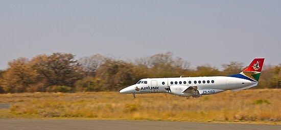 Arrival at Phalaborwa Airport  by Lebogang Manganye