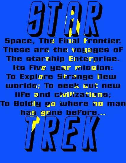 Space! The Final Frontier by Ian M.