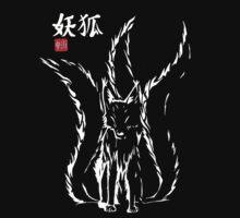 Demon Fox Keaton White by Agkrippa