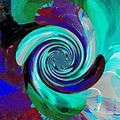 Spinning Abstract by David Schroeder
