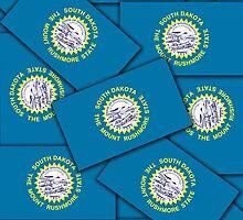 Smartphone Case - State Flag of South Dakota VII by Mark Podger