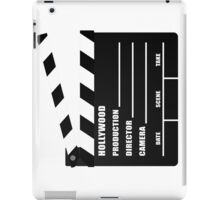Clapper Board iPad Case iPad Case/Skin