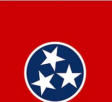 Smartphone Case - State Flag of Tennessee I by Mark Podger