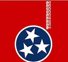 Smartphone Case - State Flag of Tennessee V by Mark Podger