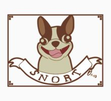 Boston Terrier Motto: SNORT T-Shirt