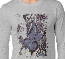 Autumn Butterfly Long Sleeve T-Shirt