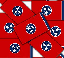 Smartphone Case - State Flag of Tennessee VI by Mark Podger