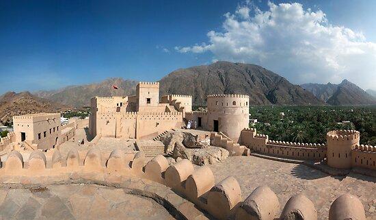 Inside Nakhl-Fort  by Norbert Probst