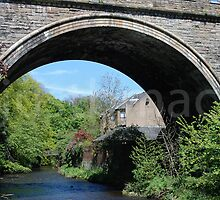 Belford Bridge over the Water of Leith by justbmac