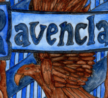 Ravenclaw House Crest Sticker