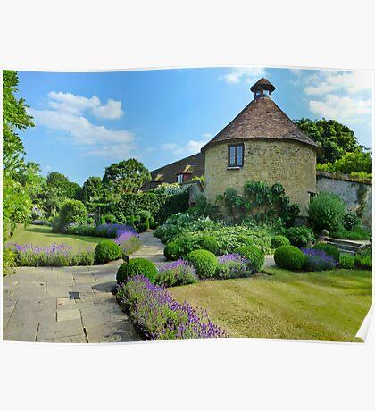 Garden at Manoir aux Quatre Saisons Poster