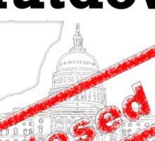 Government Shutdown 2013 Sticker