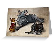 The Hobbit Bunnies Greeting Card