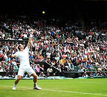 Andy Murray @ Wimbledon by Ludwig Wagner