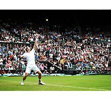 Andy Murray @ Wimbledon Photographic Print