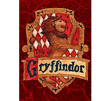 Gryffindor House Crest Photographic Print