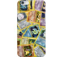 Pokemon Cards iPhone Case/Skin