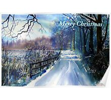 Winter on the River Ouse Poster