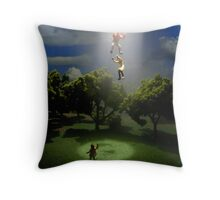 Where Mom & Dad went Throw Pillow