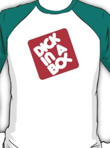 Dick in a Box Retro T-Shirt