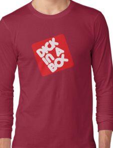 Dick in a Box Retro Long Sleeve T-Shirt