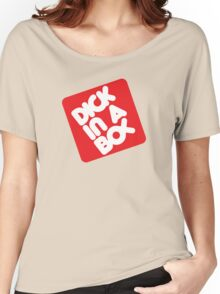 Dick in a Box Retro Women's Relaxed Fit T-Shirt