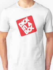 Dick in a Box Retro Unisex T-Shirt