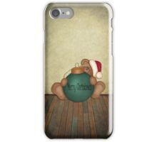 Beary Merry Christmas ~ Phone Case iPhone Case/Skin