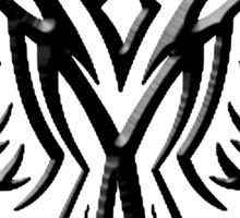 Phoenix, Phenix, Bird, Rising from the flames, Legend, Mythology, Black Sticker