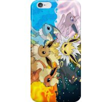 eeveelution iPhone Case/Skin