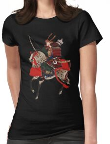 Samurai Womens Fitted T-Shirt