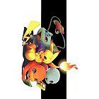 Starter Pokemon by warriorhel3