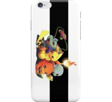 Starter Pokemon iPhone Case/Skin