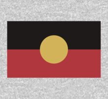 Aboriginal Flag by cadellin