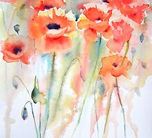 Poppies by Ruth S Harris