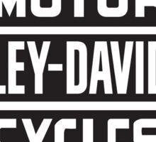 harley classic retro top Sticker