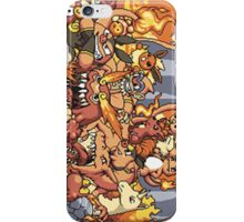 Fire Pokemon iPhone Case/Skin
