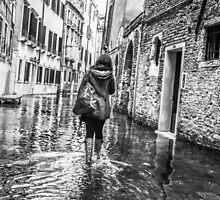 The Streets of Venice by Andy Parker