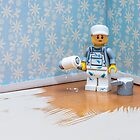 Lego Decorator by Kevin  Poulton - aka 'Sad Old Biker'