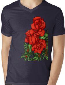 Lovely Roses for the Lady Mens V-Neck T-Shirt