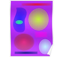 Abstract Art Collection Poster