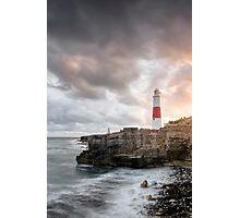 Sunkissed Portland Lighthouse Photographic Print
