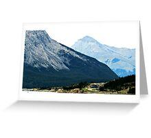Banff Mountains Greeting Card