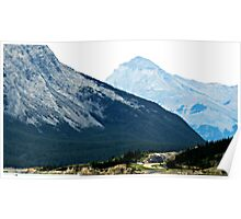 Banff Mountains Poster