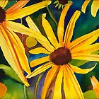 Black Eyed Susan's by Sally Griffin
