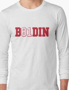 B81DIN (Boldin 81) - WR #81 Anquan Boldin of the San Francisco 49ers  Long Sleeve T-Shirt